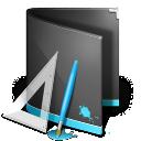 Designs Folder Black 128